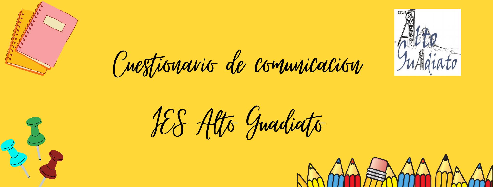 Cuestionario de comunicación